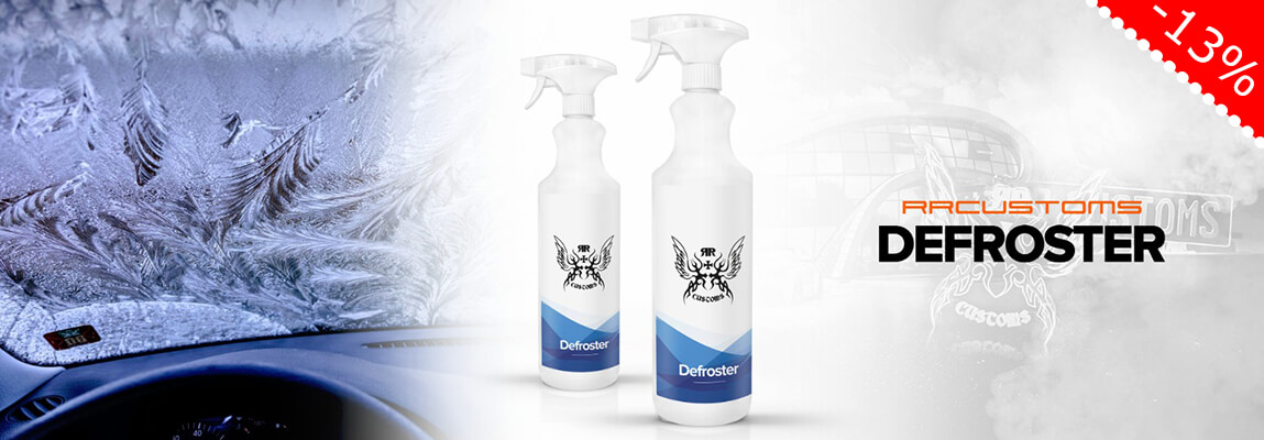 RR Customs Defroster - Enteiserspray im Sale!