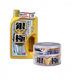 "Glossyking Extreme Gloss Shampoo + Kiwami Wax Set ""Silver"""