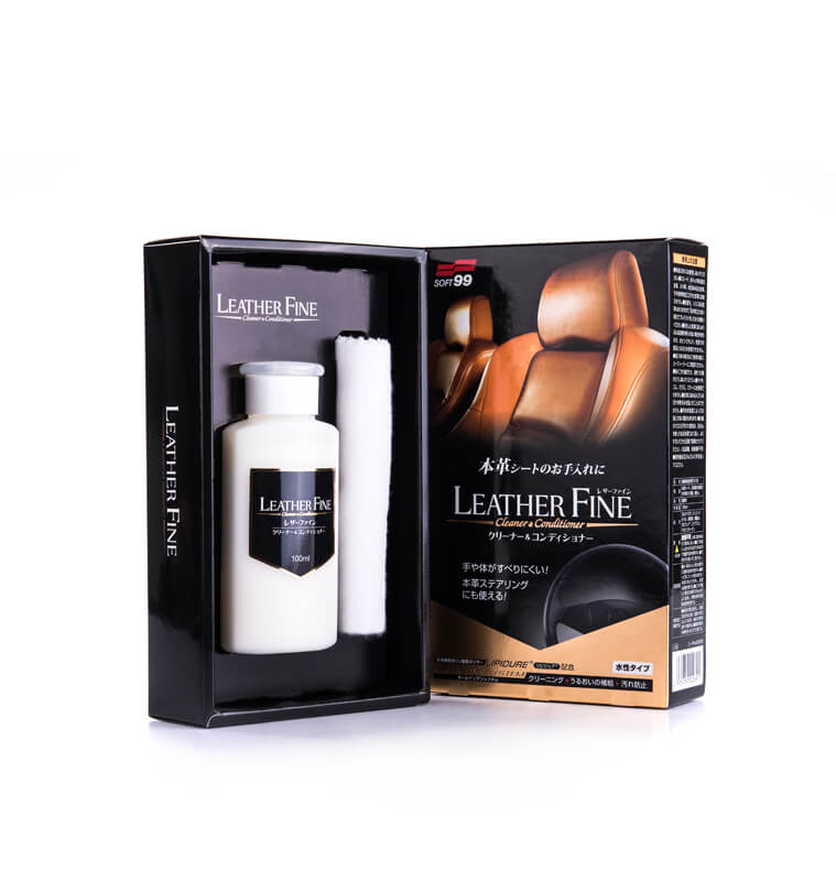 Soft99 - Leather Fine Cleaner & Conditioner