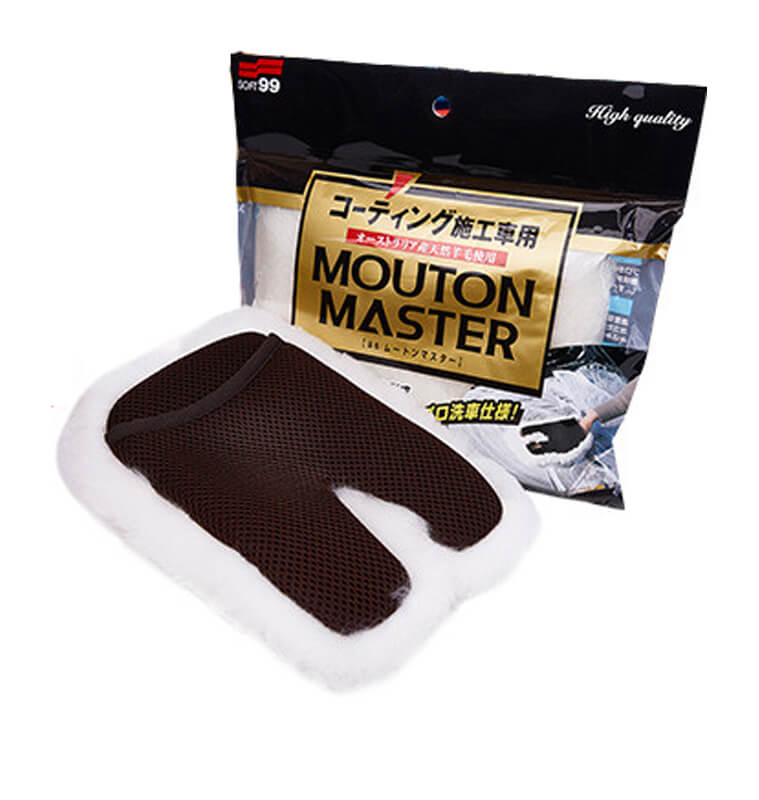 Soft99 - Car Wash Glove Mouton Master - 04177
